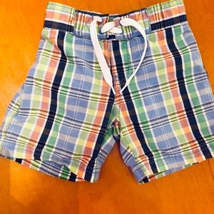 Two boys Janie and jack bathing suits 6-12 months